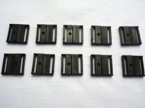 20 x SAFETY BREAK RELEASE CLIP,BAG CLASP STRAPPING,WEBBING  20mm Width