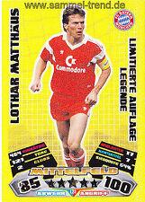 """Match Attax EXTRA 2012/13:"""" Limitierte Legende Lothar Matthäus L23  """""""