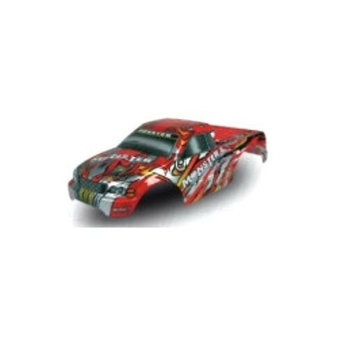 Redcat Racing 1/10 Truck Body Red 88007R Fits All Volcano Models