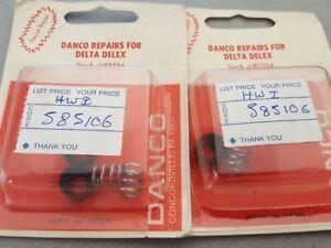 2 NEW//OLD STOCK DANCO 80684 SINGLE HANDLE FAUCET REPAIR KIT FOR DELTA 1990