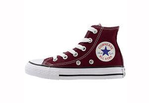 Converse-Chuck-Taylor-All-Star-High-Top-Kids-Size-Girls-Shoes-Cardinal-Burgundy
