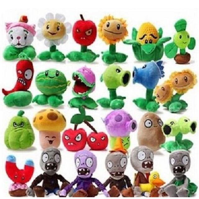 "PVZ Plants vs Zombies Melon-Pult 7/"" Anime Animal Stuffed Plush Toys"