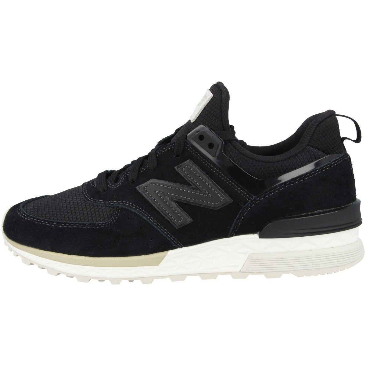 nouveau   Ms 574 FSK Chaussures de Sport Hommes Loisirs paniers Rétro Noir