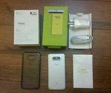 lg g5 h860 Dual Sim International Phone Bundle Free case and Screen Shield Rare!