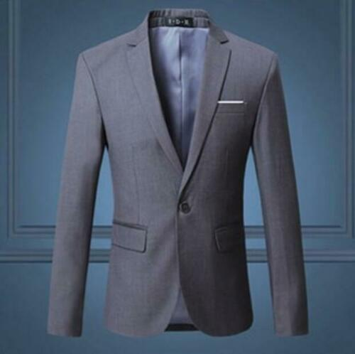 Herrenmode Anzug Frühling Langarm Revers Festlich Business Cocktail Taillenlang