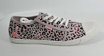 KAPPA Leopard Sneakers Gr. 40, 39 1/3, 41 1/3, UVP 29EUR, Damen Schuhe V1 05/17 M3
