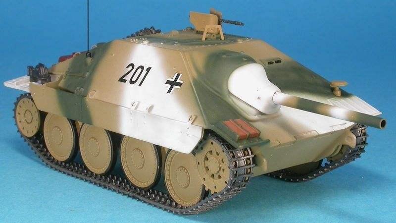 MASTER fighter 1  48 MILITAIRE CHAR TANK JAGDPANZER 38 (t) HETZER Front Ouest 1945