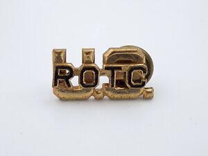 Original-WWII-Eeuu-Ejercito-Rotc-Oficial-Collar-Insignia-Meyer-Metal-Screwback