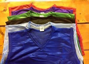 Mesh-V-neck-scrimmage-vests-100-lightweight-polyester