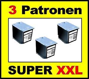 3 x Tinte Patronen komp. zu Samsung FAX SF-340 SF-345TP SF-360 SF-365TP M40