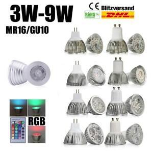 4-Pack-3-5-7W-GU10-MR16-LED-Bulbs-Spotlight-Lamps-Energy-Saving-Lightbulbs