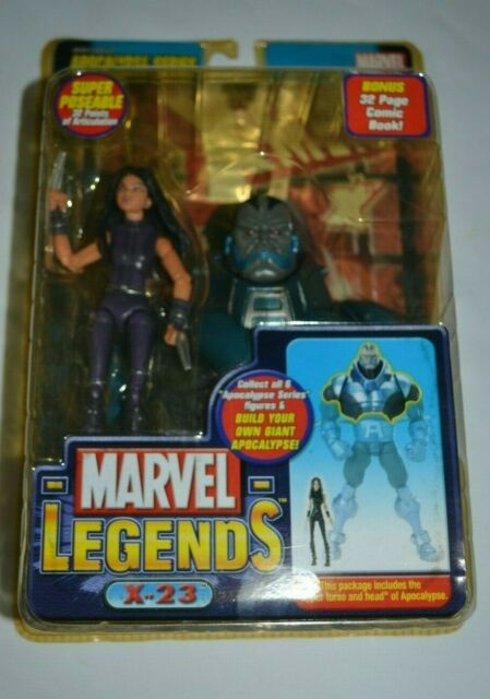 MARVEL LEGENDS X-23 - APOCALYPSE SERIES BONUS 32 PAGE COMIC BOOK
