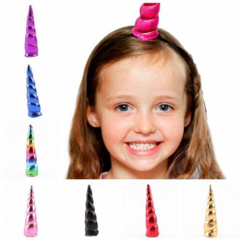 band elastische baby diadem kinder stirnband einhorn horn kopfbedeckungen