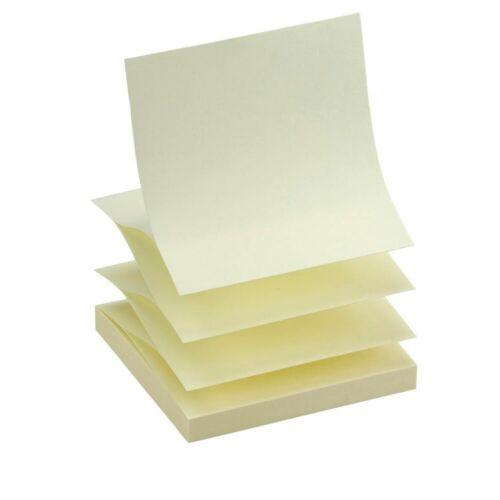 12 X 100 Blatt Haftnotizen Haftnotizen Notizwürfel Klebezettel  Z-Faltung R330!