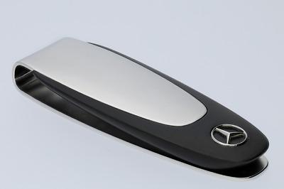 Original Mercedes-Benz Geldscheinklammer silber//schwarz B66954779