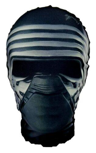 Fancy Dress Ben Solo Head Mask Star Wars Parody Halloween Costume Kylo Ren