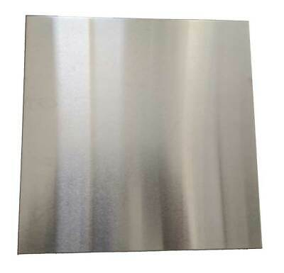 """11 Gauge Stainless Steel #4 Brushed 304 Sheet Plate 6/"""" x 12/"""""""