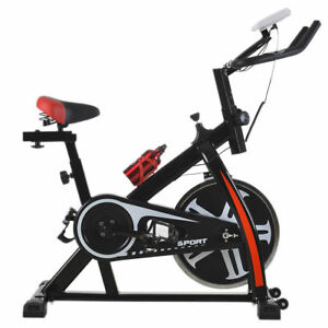 Black-Bicycle-Cycling-Fitness-Exercise-Stationary-Bike-Cardio-Home-Indoor-508