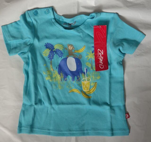 2fa8d30cc Zutano Baby Boys Printed Short Sleeve T-shirt Jungle Pals 12m 6-12 ...