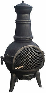 Black Bronze Finish Cast Chimenea Chimnea Chiminea Spare Replacement Parts List Ebay