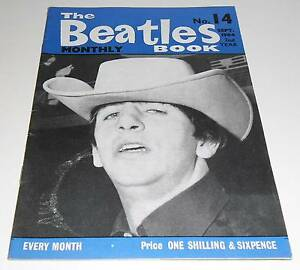 THE BEATLES  MONTHLY BOOK  NUMBER 14  SEPTEMBER 1964 - Barnsley, United Kingdom - THE BEATLES  MONTHLY BOOK  NUMBER 14  SEPTEMBER 1964 - Barnsley, United Kingdom