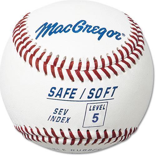 MacGregor Safe soft Level 5 Safety Baseball 1 Dozen USPS Priority
