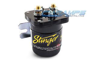 new stinger 200 amp pro battery isolator relay dual car. Black Bedroom Furniture Sets. Home Design Ideas