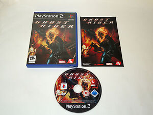 GHOST-RIDER-complete-in-box-with-manual-PS2-Playstation-PAL-game