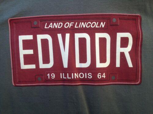 Eddie Vedder Illinois 2011 Tour Shirt