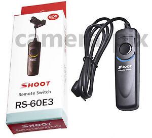 RS-60E3 Remote Shutter Release for Canon EOS 760D 750D 650D 700D 1100D 1200D