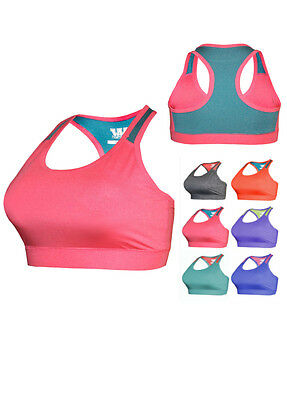 W Sport® Women's Workout Fitness Training Athletic Racer Back Sports Bra - 845