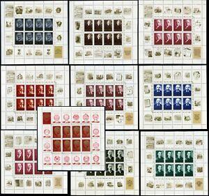 Russia-USSR-1970-100th-birthday-of-Vladimir-Lenin-10-Sheets-50