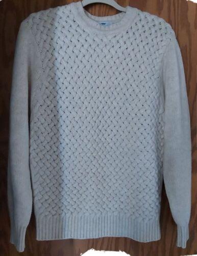 INIS MEAIN womens size S Irish cream cashmere wool