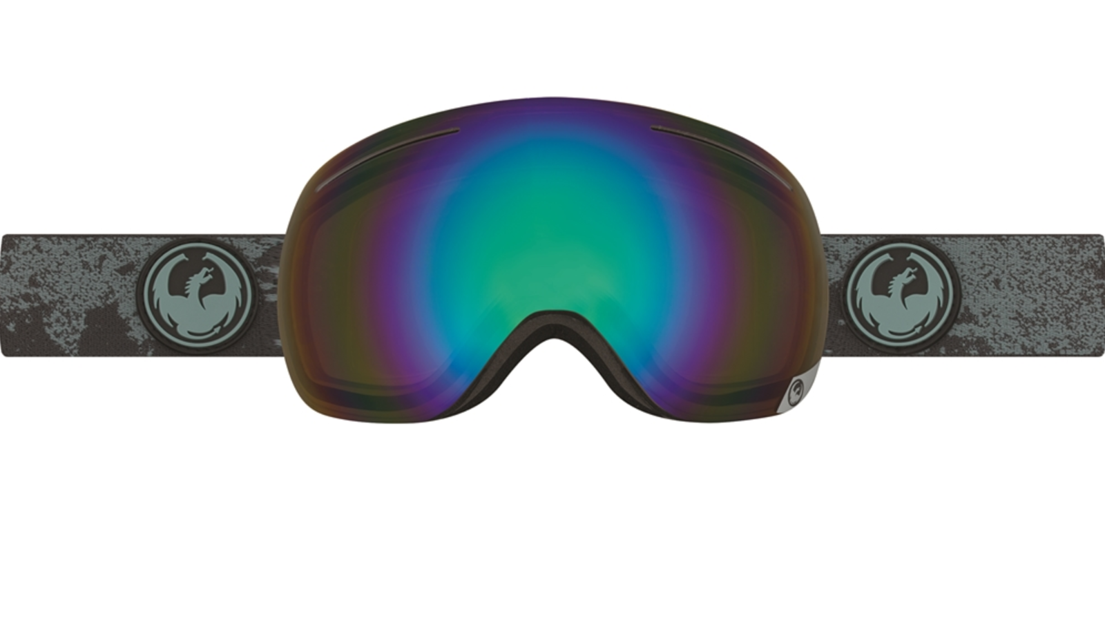 NEW Dragon X1 Goggles-Mason Grau-Grün Flash Polarized-SAME DAY SHIPPING