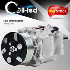Ac Ac Air Condition Compressor Co 4918ac Fit For 2006 2011 Honda Civic 18l New