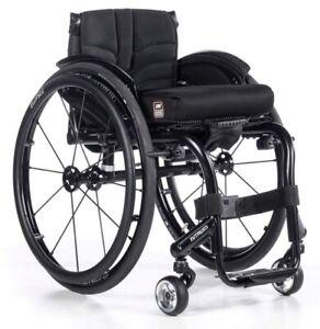 NITRUM Starr quadro sedia a rotelle Sunrise Medical attivamente Sedia A Rotelle Super Leggera Nuovo