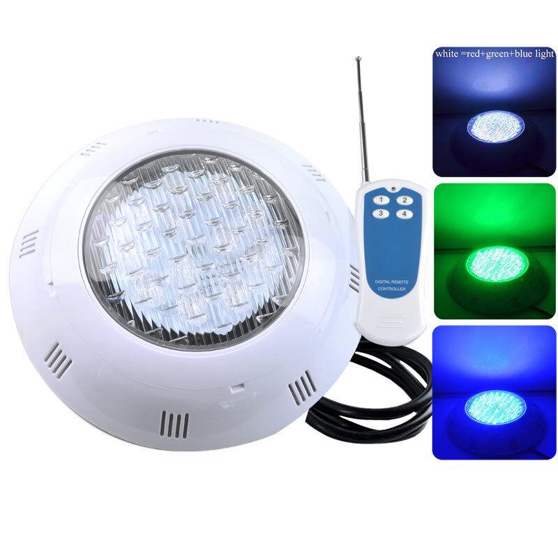 Pequeño tamaño 18 W 2835 SMD 252 LEDs RGB LED luz bajo el agua piscina para Fuente Estanque