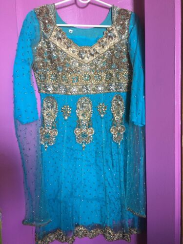 Indian party wear anarkoli suit