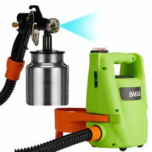 Pistola-a-Spruzzo-Professionale-Stazione-Spray-per-Verniciare-550-W-Aerografo