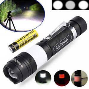 20000Lumen-T6-LED-5-Modes-USB-Rechargeable-18650-Flashlight-Torch-Zoom-Lamp-AU