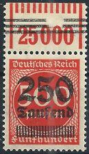 MiNr. 296 OPD München vom Walzenoberrand 1'11'1 geprüft WEINBUCH BPP
