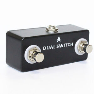 Mosky-2-Button-Amp-footswitch-Dual-Momentary-footswitch-TRS-Amplifier-Parts