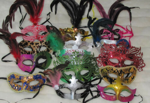 MARDI GRAS masquerade party favor weddings MASKS   LOT of  75 mask HALLOWEEN