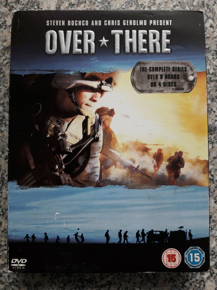 Over There, DVD, TV-serier