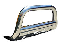 T-304 14-17 Rogue Bull Bar With Skid Plate Bumper Grill Protector Guard S/s