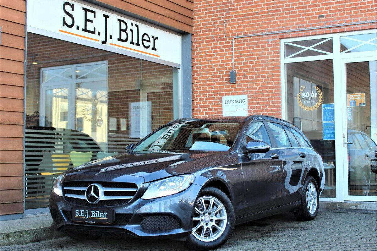 Mercedes C200 d 2,2 Business stc. aut. 5d