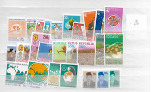1986-MNH-Indonesia-year-complete-according-to-Michel-system