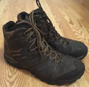 zapatos merrell ni�a usado