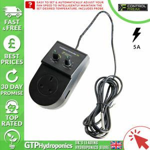 Control Freak Intelligent Single Fan Speed Controller 5 Bon état Sonde - 5 Amp-afficher Le Titre D'origine
