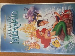 Details about RARE!! The Little Mermaid (VHS, 1990) recalled version,  original banned set